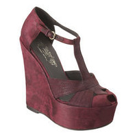 Nine West: Karen Elson For Nine West Vintage America Collection > Theghost - wedge t-strap