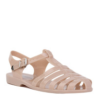 Gladiator Jelly Nude Sandals