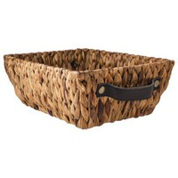 Nate Berkus Rectangle Basket - Earth Natural