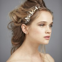 Olive Branch Headband in SHOP Attire Hair Adornments at BHLDN