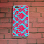 Iphone 5 Case, New iPhone 5 case Damask Floral Pink And turquoise Pattern iPhone 5 Cover, iPhone 5 Cases, Case for iPhone 5
