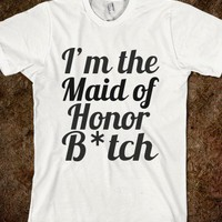 Maid of Honor Humor Tee