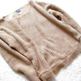 Urban outfitters sweater sparkle and fade camel/brown/beige