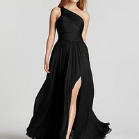 Halston Heritage &quot;Jerry&quot; One-Shoulder Gown - Contemporary - Bloomingdales.com