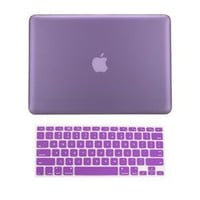 Amazon.com: TopCase 2 in 1 Rubberized PURPLE Hard Case Cover and Keyboard Cover for Macbook Pro 13-inch (A1278/with or without Thunderbolt) with TopCase Mouse Pad: Computers &amp; Accessories