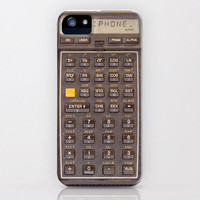 iPhone 5 Case, iPhone 5, IN STOCK vintage calculator, case for iPhone 5, Hewlett Packard, bomobob, HP41 calculator, iPhone accessory