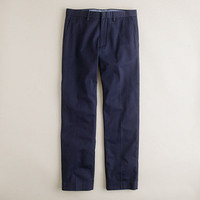 Bowery slim in cotton twill