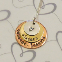 Sister Personalized Jewelry