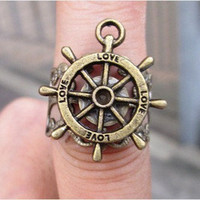 ship wheel ring, Adjustable Band