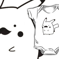 Pikachu Moustache Smosh Shirt by theillestbrew