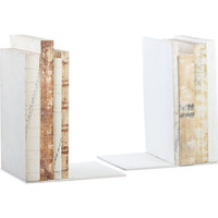 naked bookends set of 2 in storage | CB2