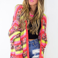 MULTICOLOR SWEATER - Back in stock!