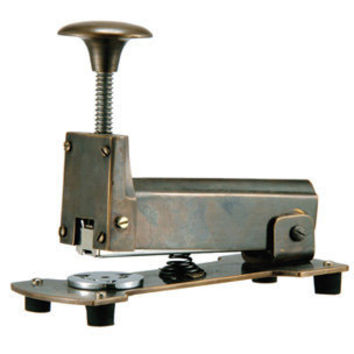 Brass Antique Stapler | Rain Collection