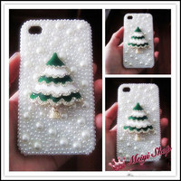 Christmas Day Present New Style Christmas Tree Case for iphone4 4s