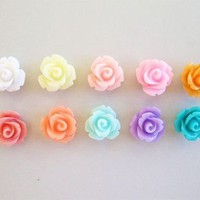 Rose Earrings by Love What's Missing