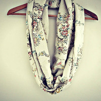 wallflower. vintage scarf. foral fabric. delicate. boho. anthropologie.