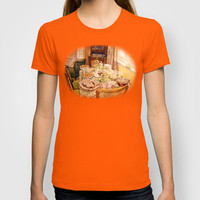 There Was a Party T-shirt by Vargamari | Society6
