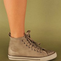 Remix Studded Sneakers - Sand at Necessary Clothing