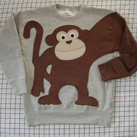NeW MONKEY AROUND sweatshirt sweater jumper KIDS s,m or l
