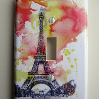 Eiffel Tower Paris France Decorative Light Switch Cover