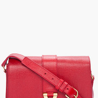 Yves Saint Laurent Medium Red Chyc Shoulder Bag for Women | SSENSE