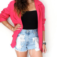 Vintage Pink Blazer