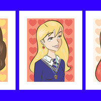 Wizard Girls by BrookeLynnDesign on Etsy