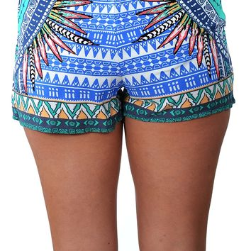 Domingo Shorts - Blue
