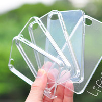Blank or clear DIY iPhone 4 and iphone 4s case : &quot; 5 Pieces &quot;