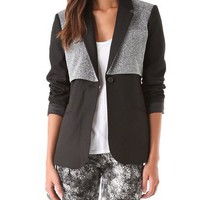 Elizabeth and James Double Rex Blazer | SHOPBOP