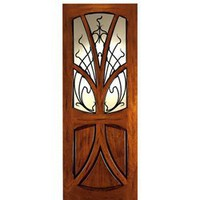 AN-2007 | Art Nouveau Doors | Entry Door