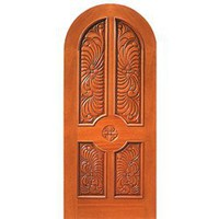 Model # 17 | Carved and Mansion | Entry Doors