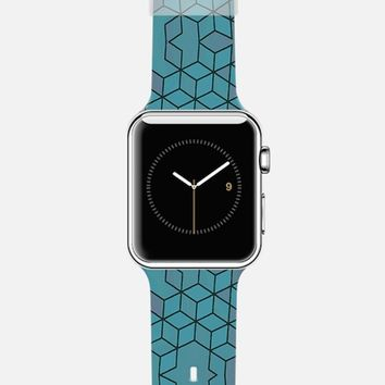 Cubed pattern Apple Watch case by DuckyB   Casetify