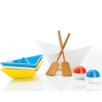 """Paper Boat"" Table Top Serving Set - A+R Store"