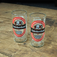Amsterdam Beer Bottle Tumblers - 2pk - Cool Material