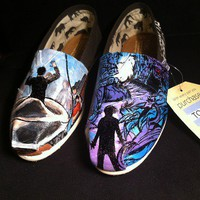 A Day To Remember TOMS by Art By Carolina Londono