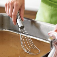 Stainless-Steel Flat Whisk