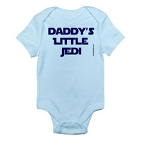Daddy&#x27;s Little Jedi - Baby Bodysuit - FREE SHIPPING