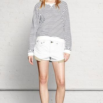 Rag & Bone - Marilyn Short, Age Wht Slvg