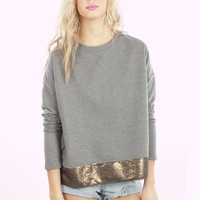 Jack By BB Dakota Michel Sequin Sweater | Casual Sweaters | MessesOfDresses.com