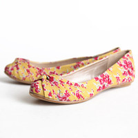 veranda floral flats in yellow - &amp;#36;29.99 : ShopRuche.com, Vintage Inspired Clothing, Affordable Clothes, Eco friendly Fashion
