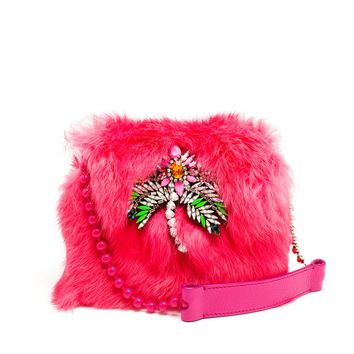 Fur Daktari Bag - SHOUROUK