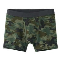 MEN DRY PRINTED BOXER BRIEFS