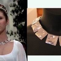 Star Wars Princess Leia Ceremonial necklace replica  by sistersola