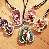 Vocaloid Charms by VC's Mod Market