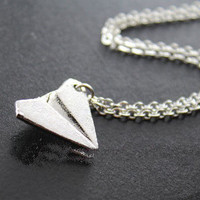 One Direction,Paper Airplane Necklace, Harry Styles Airplane Necklace
