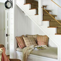 Interior Covet / Under stairs nook.