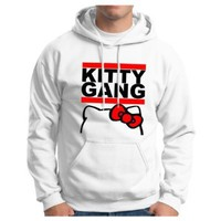 Amazon.com: Kitty Gang Hoodie Hooded Sweatshirt OFWGKTA Odd Future Tyler Creator Hello Taylor Gang illest Wiz Mac Cute Sexy Hoodie Sweatshirt: Clothing