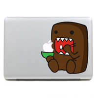 Macbook decal monster MacBook sticker Mac Book Air Mac Book Pro Mac Sticker Mac Decal Apple Decal Mac Decals