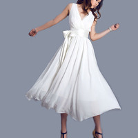 White wedding dress (0100)